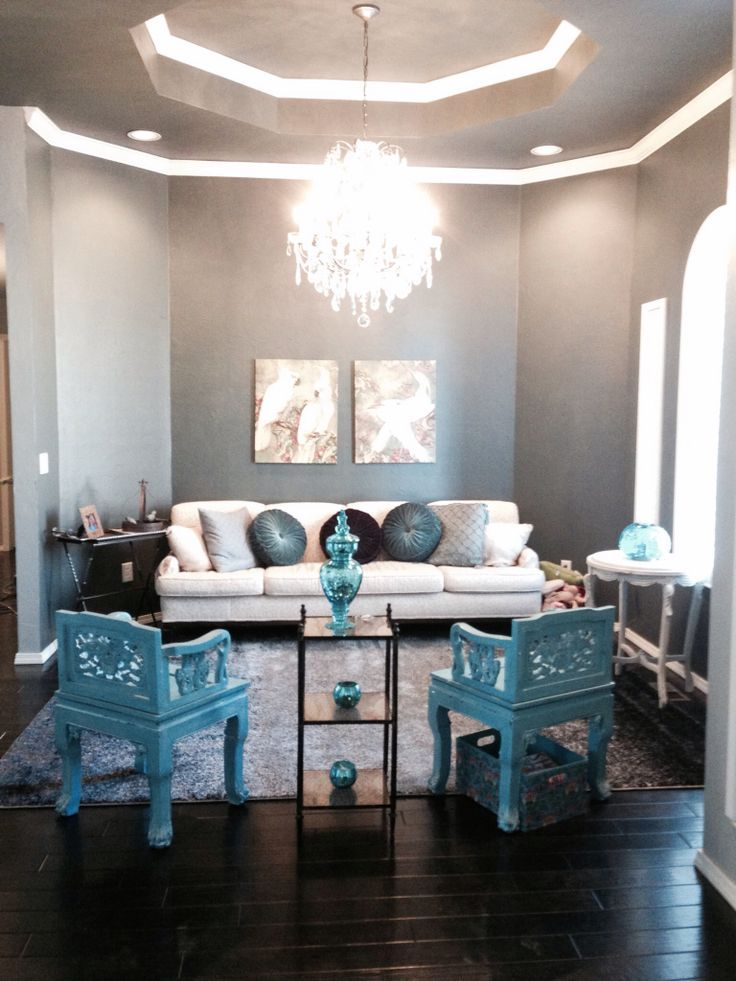 Living Room Turquoise Fascinating How To Decorate Your Living Room With Turquoise Accents  A Well . Design Ideas