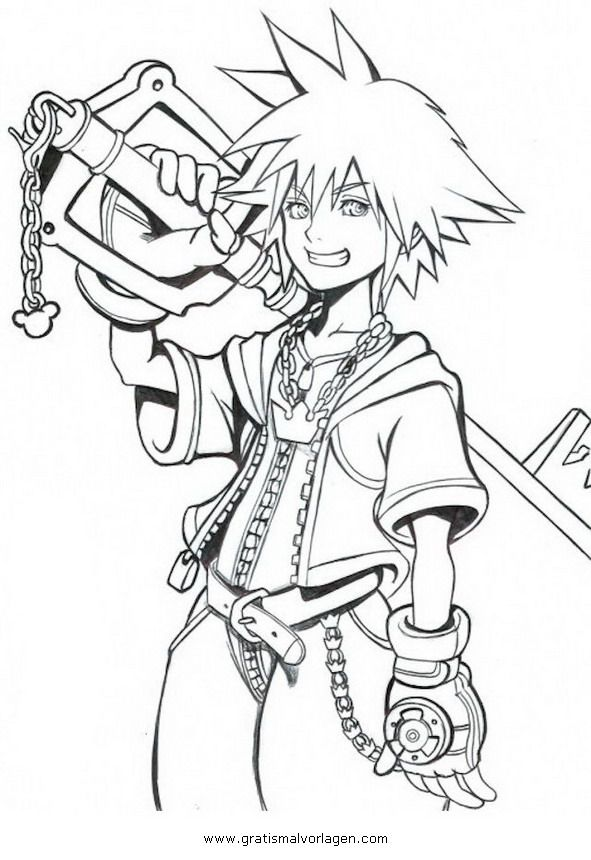 final fantasy character coloring pages - photo#19