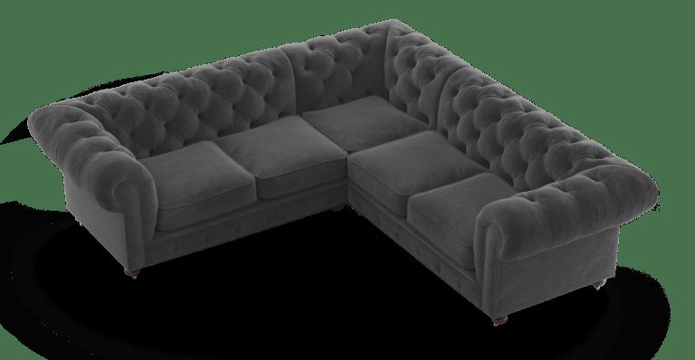 3000 Notting Hill Velvet Chesterfield L Shaped Sectional Corner Sofa L Shaped Sofa Designs Sofa Bed Design Living Room Sofa Design