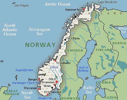 Original Molmen Family Homestead Located Just East Of Trondheim - Norway map jpg