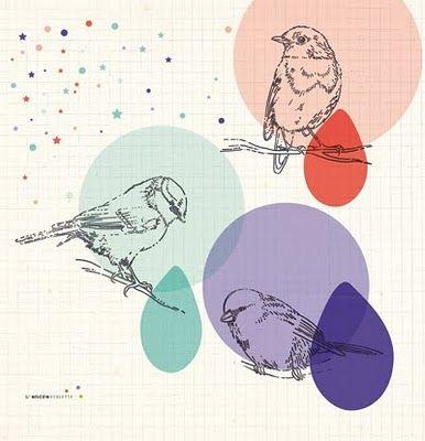 affiche moderne's prints by french illustrator l'encre violette (the purple ink)