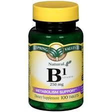 When taking vitamin B-1, your skin puts off an odor (that