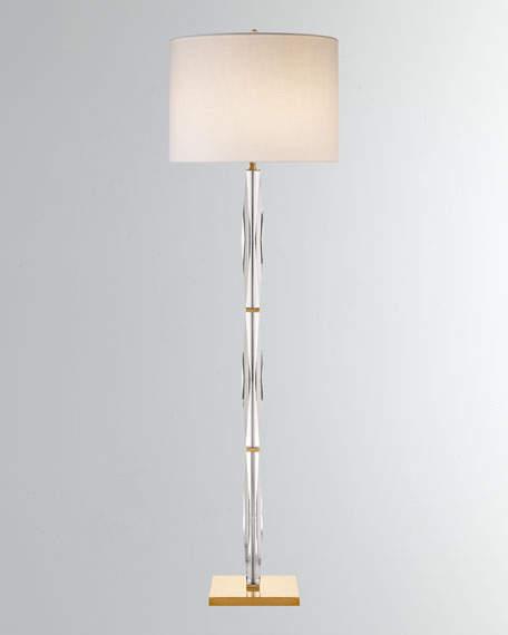 Kate Spade Castle Peak Narrow Floor Lamp Floor Lamp Rectangular