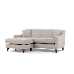 Halston un canapé d angle  méri nne modulable beige tissé