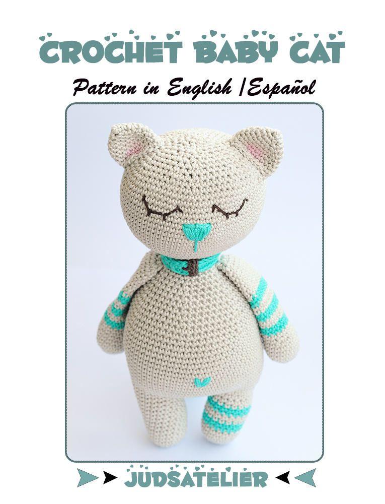 Perfecto Crochet Hola Patrón Manta Gatito Festooning - Manta de ...