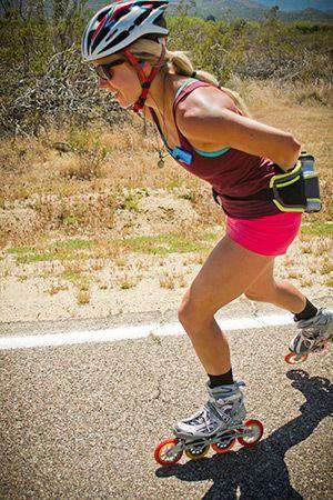 Sculpt Your Legs Like Inline Skating Marathoner Kacie Cleveland Inline Skating Rollerblading Inline