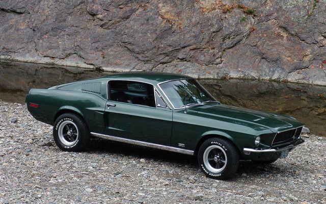 1968 Ford Mustang Gt Bullit Ford Mustang Bullitt Mustang Bullitt Ford Mustang Gt