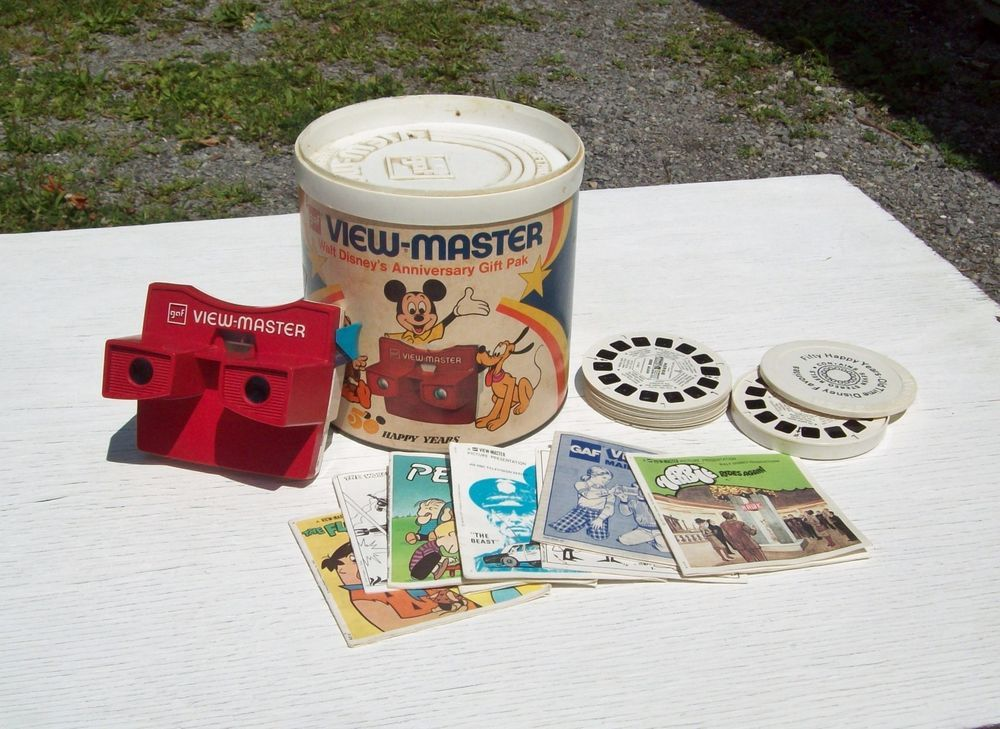 vintage 1960 s view master walt disney s anniversary gift pak with