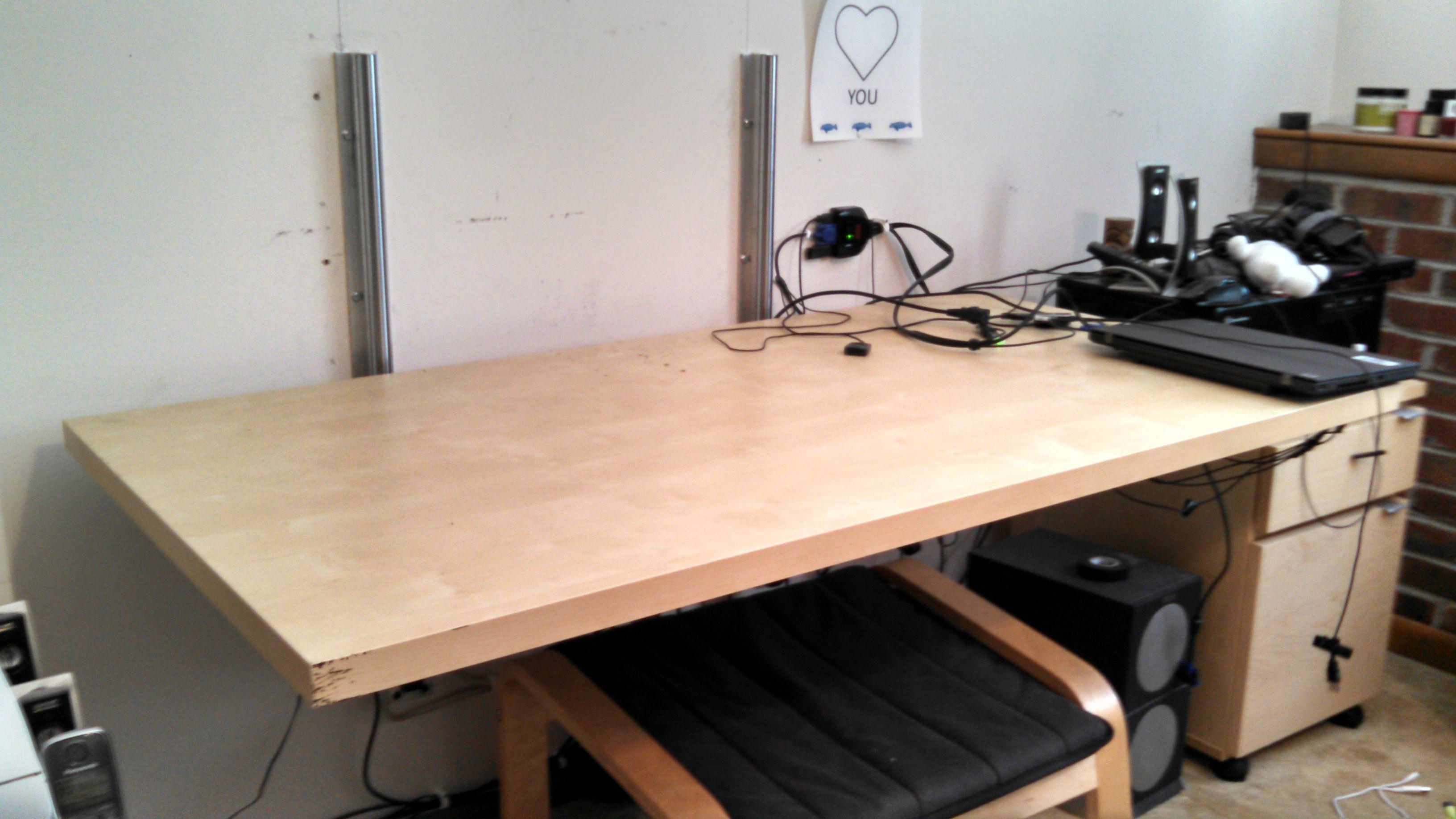 Wall Mounted Adjustable Desk Desk Adjustable Standing Desk