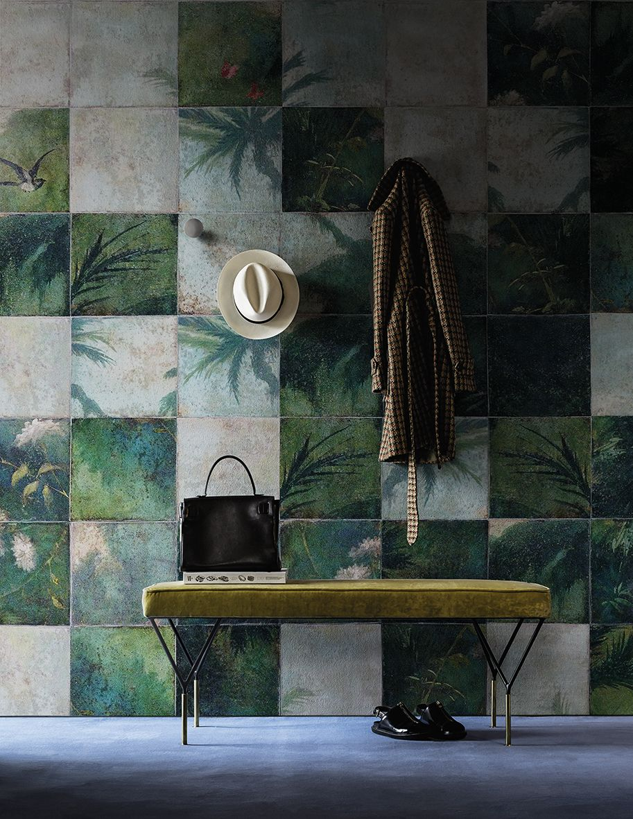 Exotic damier www.wallanddeco.com #wallpaper, #wallcovering ...