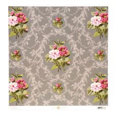 Camilla Floral 12x12 Double-sided Cardstock