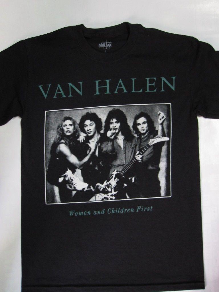Click To Buy Gildan Van Halen Women And Children First T Shirt Men S T Shirt Affiliate Van Halen Mens Plain T Shirts Mens Tshirts