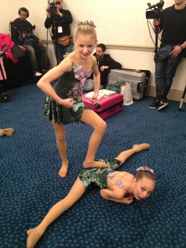Dance Moms :) maddie ziegler and chloe lukasiak! | i never ...