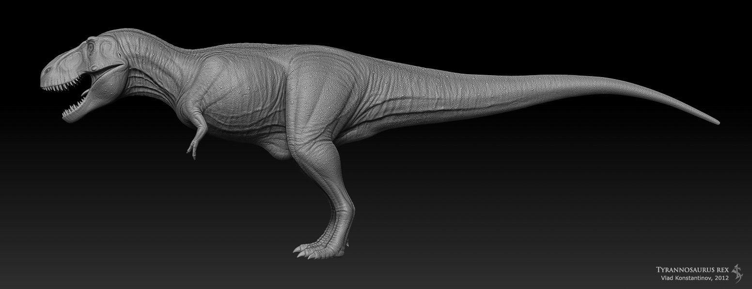 Tyrannosaurus rex for ROM WIP by Swordlord3d on DeviantArt | Dino ...