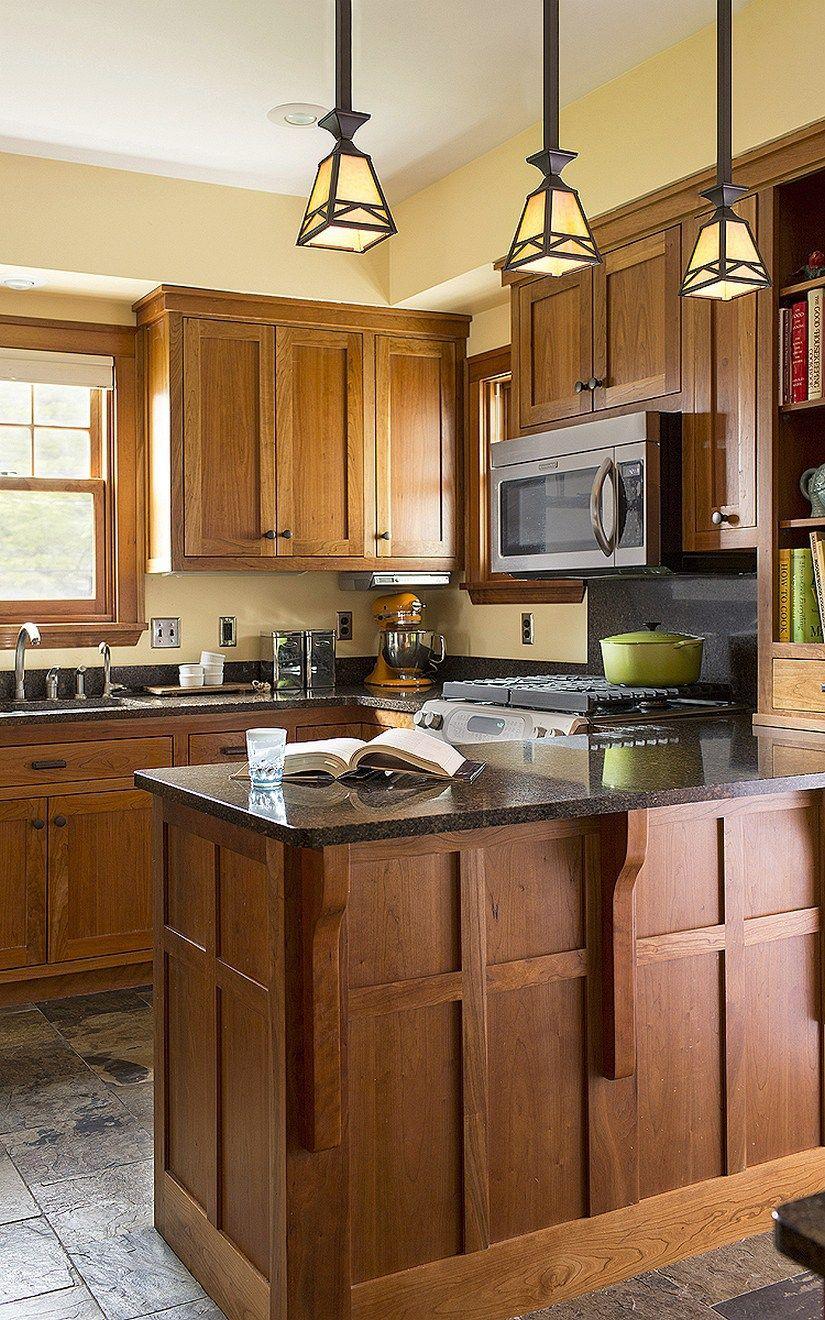 101 awesome craftsman kitchen design ideas (45)