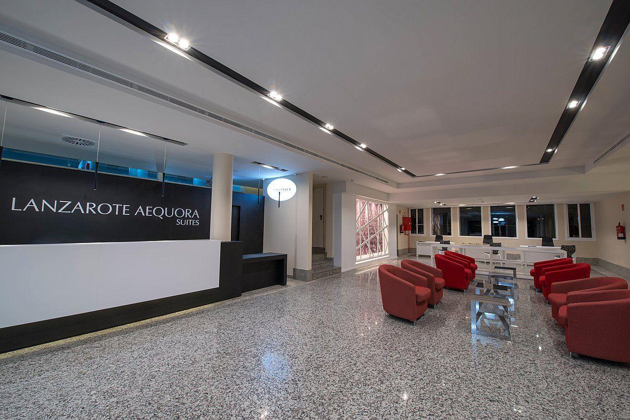Recepción del Hotel Sentido Lanzarote Aequora Suites