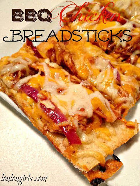 BBQ Chicken Breadsticks - Lou Lou Girls