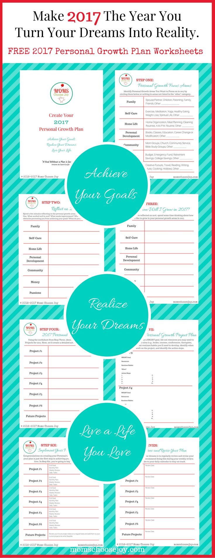 Are you ready for goal setting for 2017 This free 7Step Personal – First Step Worksheet