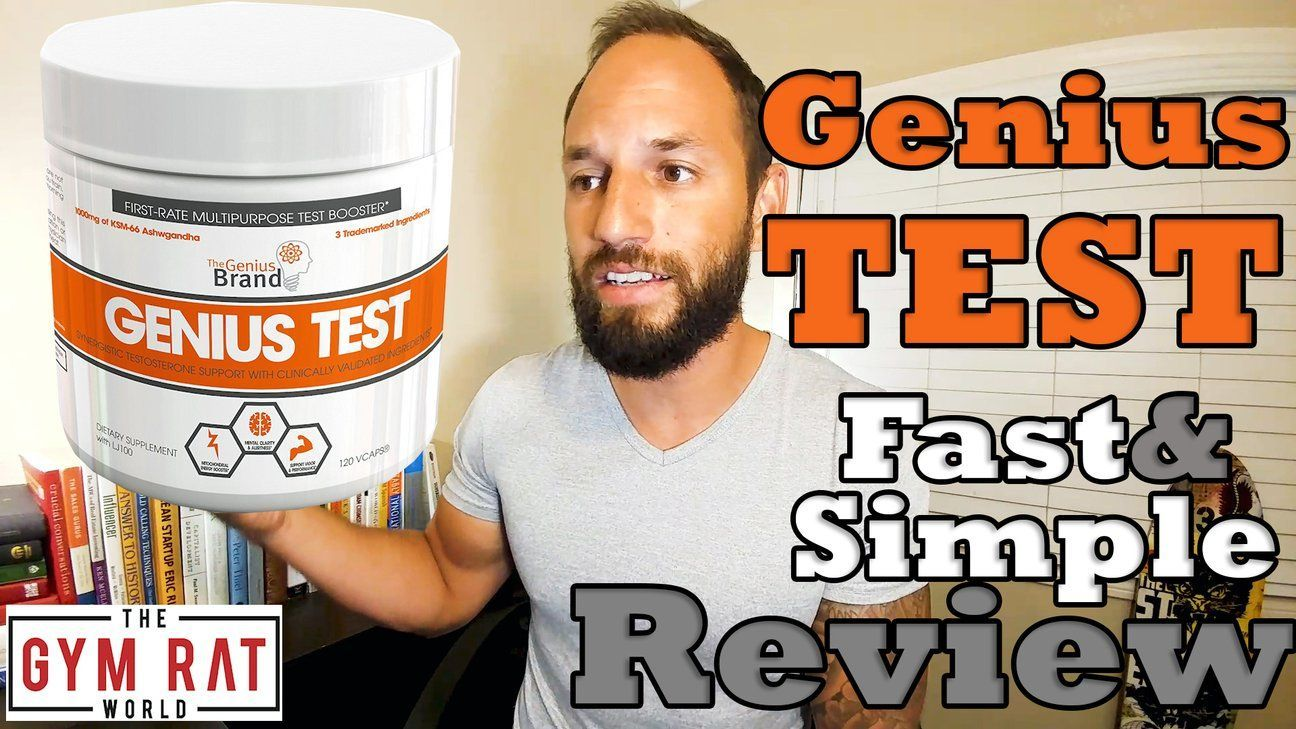 Genius test testosterone booster the genius brand