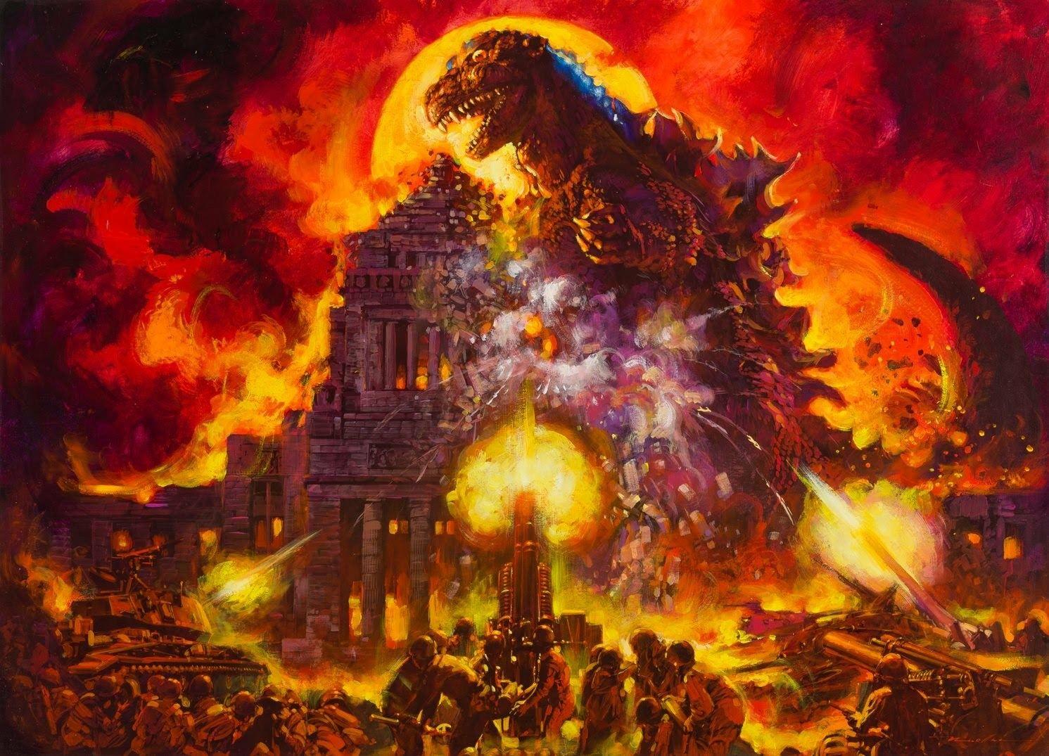 Pin by Masaaki Hosokawa on 生頼範義 Godzilla, Godzilla vs