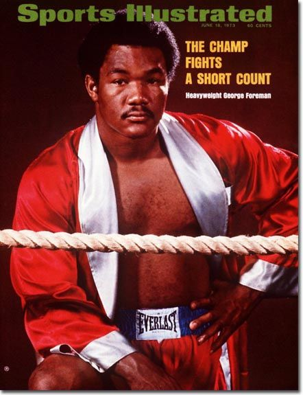 MAY 1971 ISSUE WORLD BOXING MAGAZINE GEORGE FOREMAN COVER