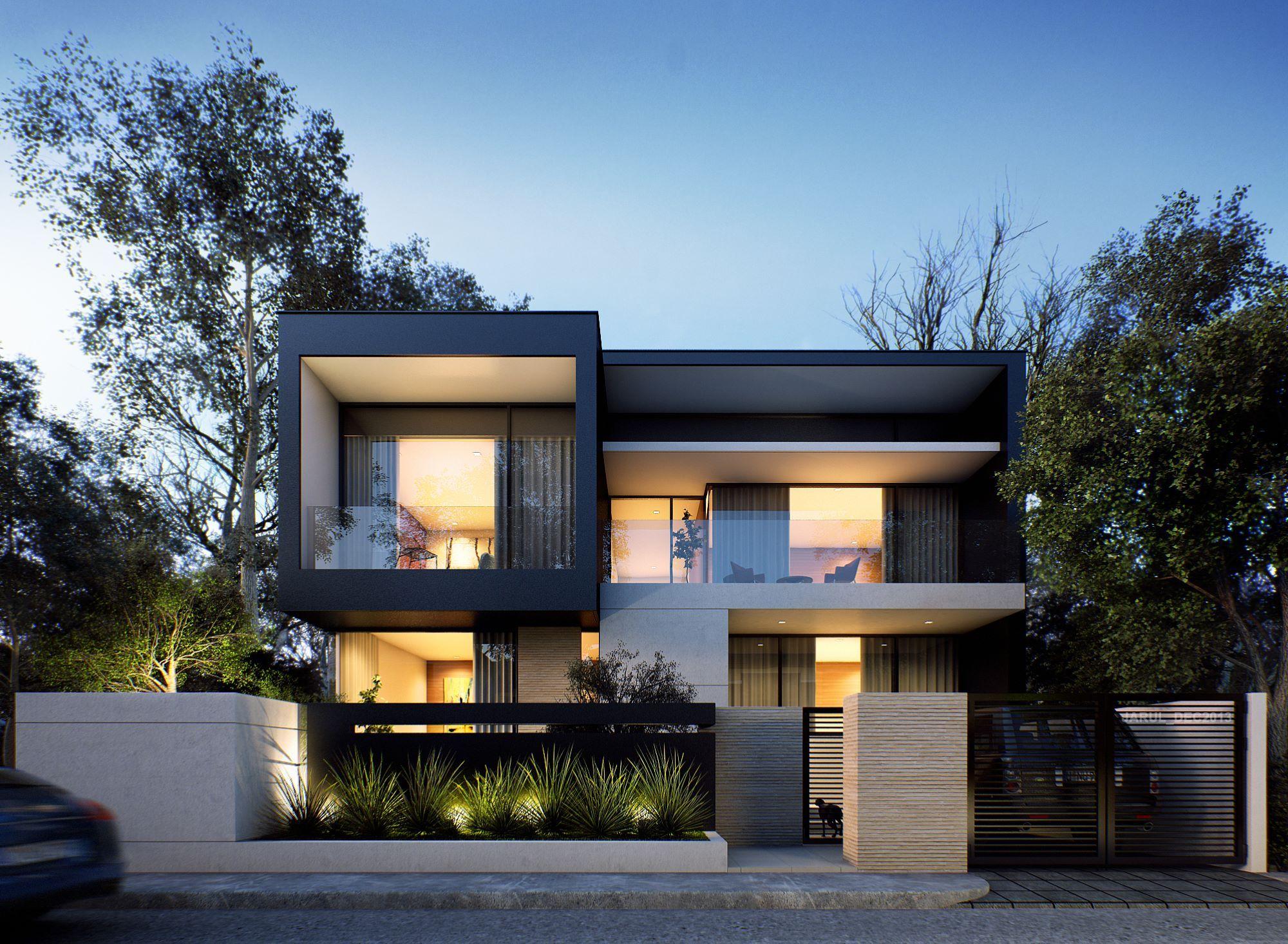 Mẫu biệt thự hiện đại đẹp nhất | NGÔI NHÀ MƠ ƯỚC! | Pinterest ...