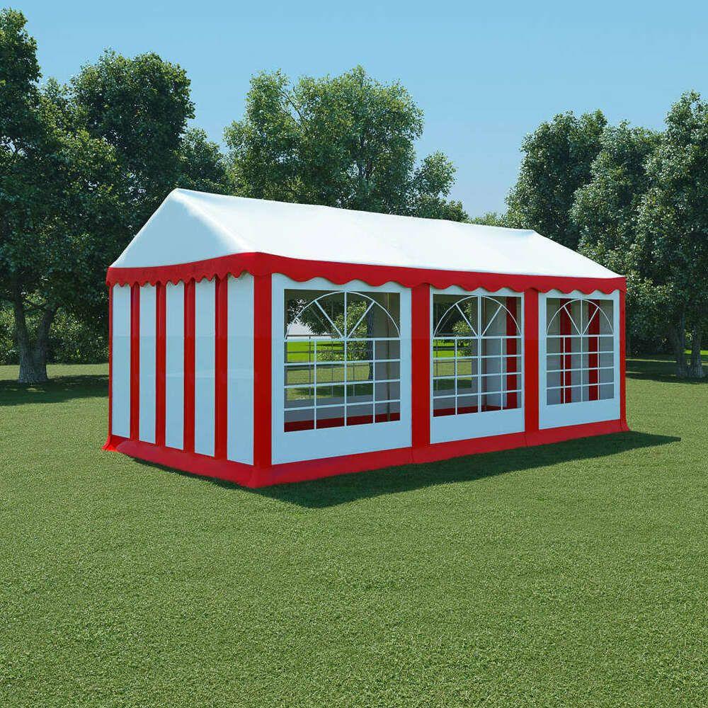 Tonnelle Kiosque De Jardin ebay #sponsored vidaxl chapiteau de jardin pvc 3x6 m rouge