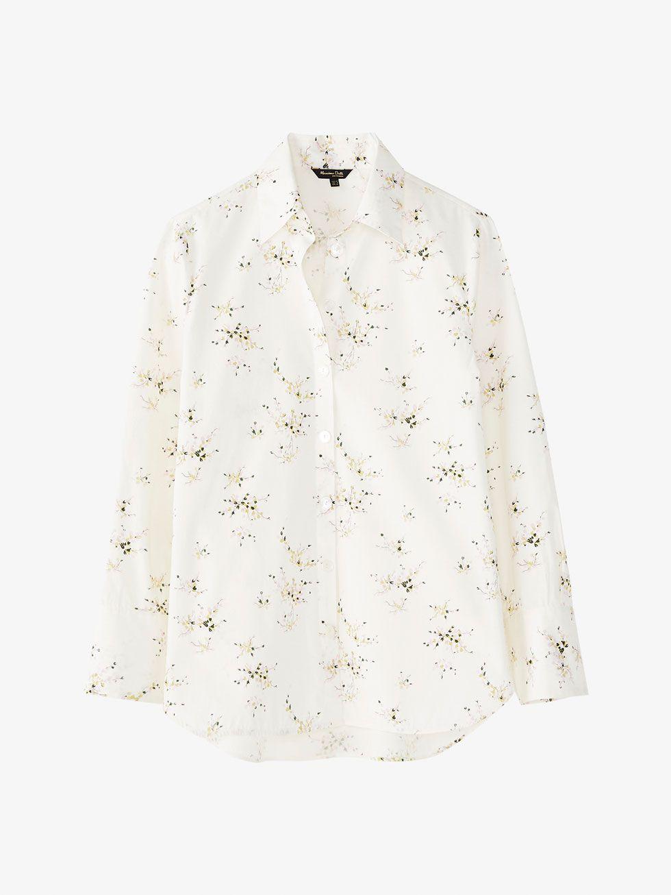 e6ad499979 FLORAL PRINT POPLIN SHIRT | My wardrobe in 2019 | Floral print shirt ...