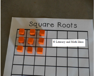 Literacy  Math Ideas Teaching Square Roots Radicals For Deep