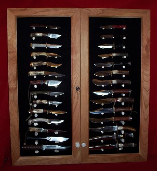 Knife Display Cases For Wall Plans