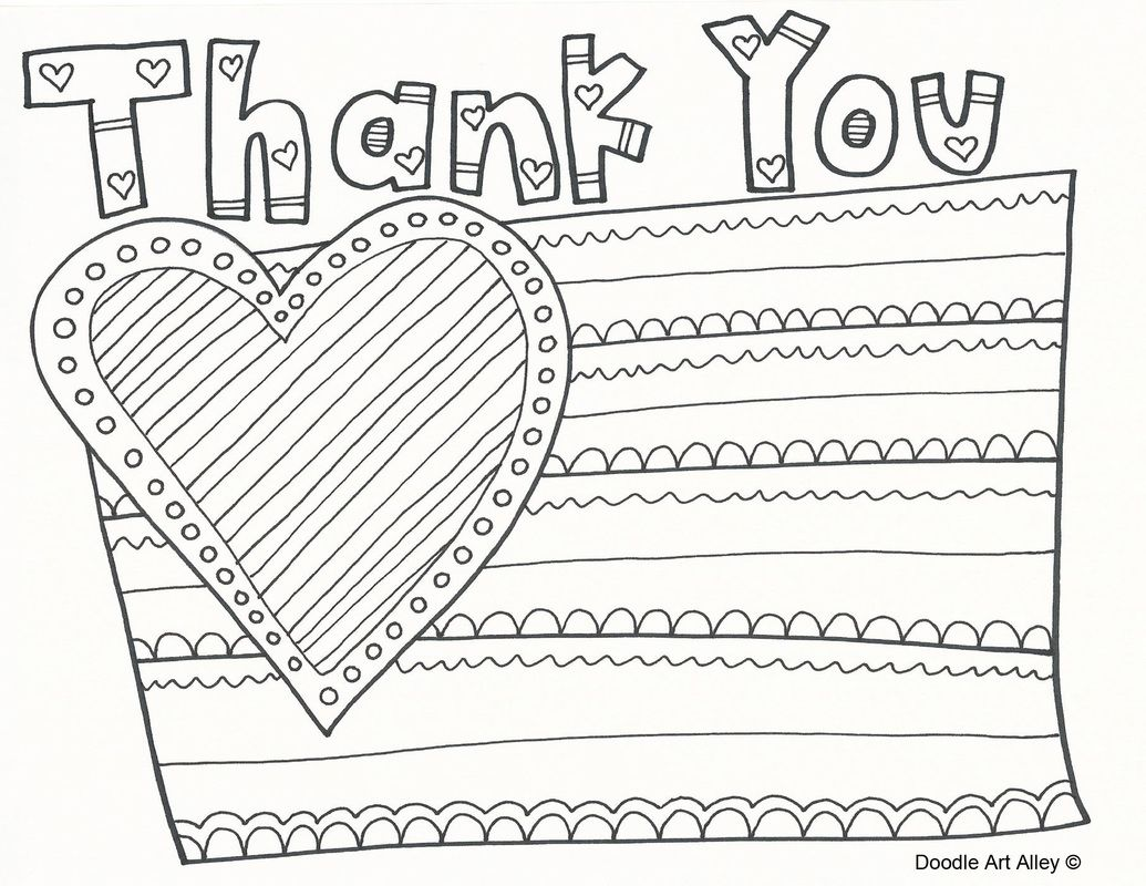 Veterans Day Thank You Printable Coloring Pages Teacher