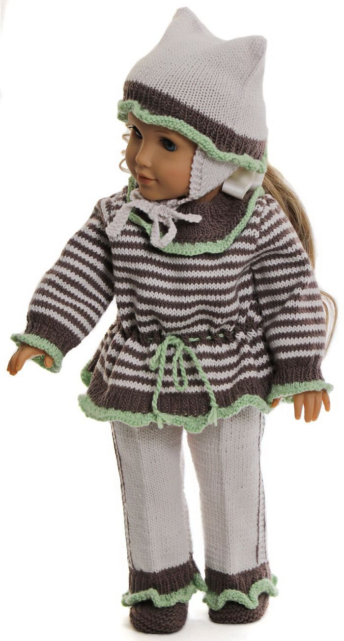 Doll clothes patterns for-18 inch dolls - Your doll will look so ...