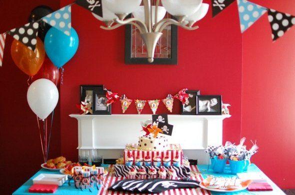 anniversaire pirate cotillons de pirates decorations de