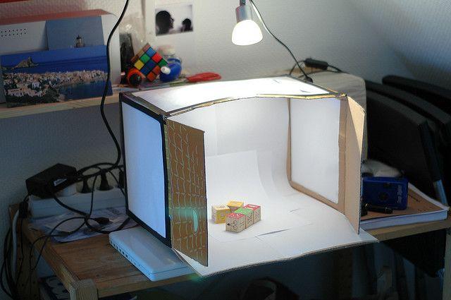 Diy Studio Box Photo Light Box Diy Diy Photo