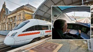 BILD auf Testfahrt im Zug der Zukunft Leipzig-Erfurt in 43 Minuten