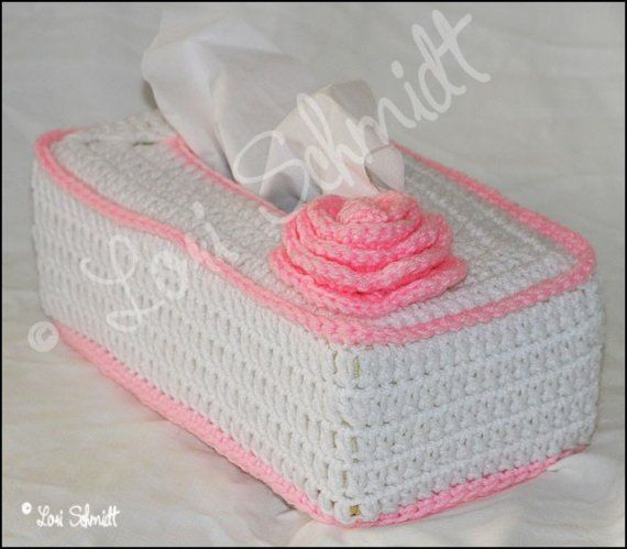CROCHET TISSUE BOX COVER | Tisue Box | Pinterest | Morenas, Conejo y ...