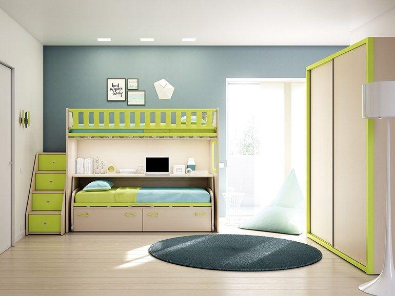 Stanzette Moretti Compact Prezzi.Ks 208 Bedroom Set By Moretti Compact In 2019 Bedroom