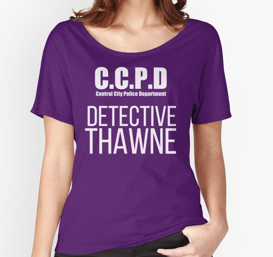 C.C.P.D Detective Thawne by Lottie Smith