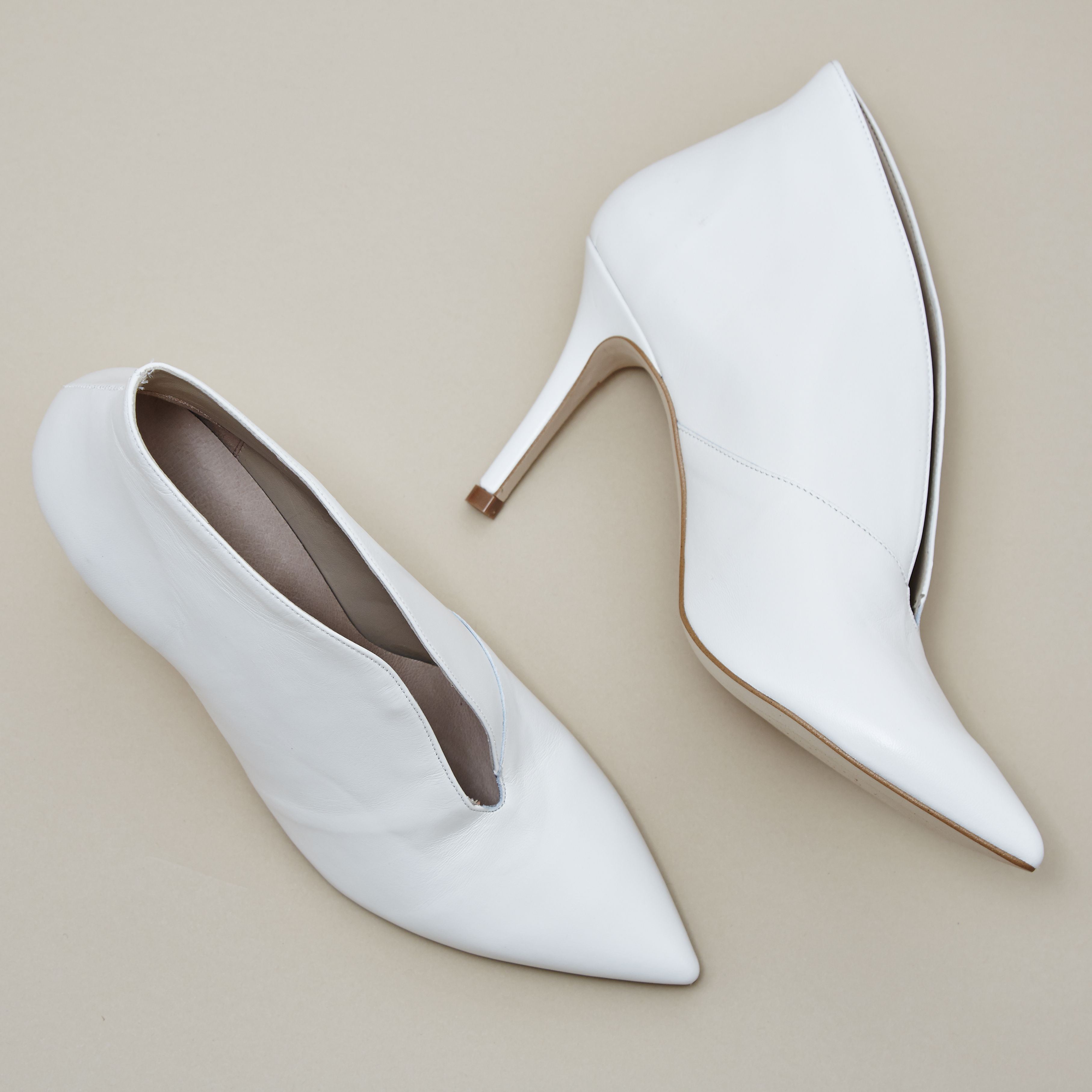 Office Mojo Shoe Boots Off White