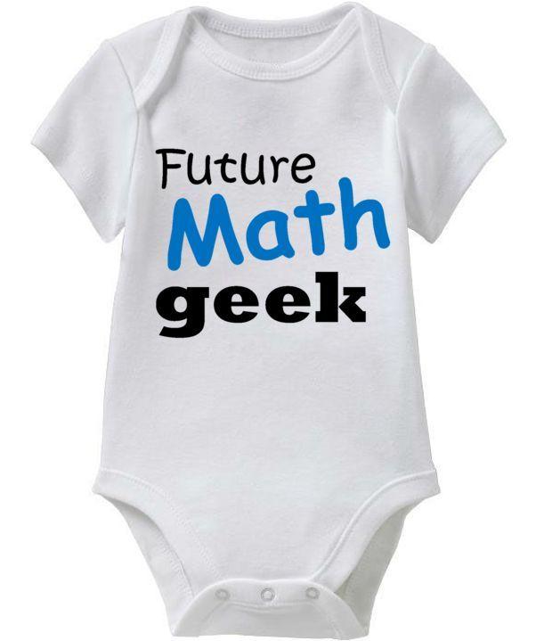 f63d8b61f math baby onesies   Future MATH Geek (Blue & Black Baby Onesie Collection)  Coming Soon .