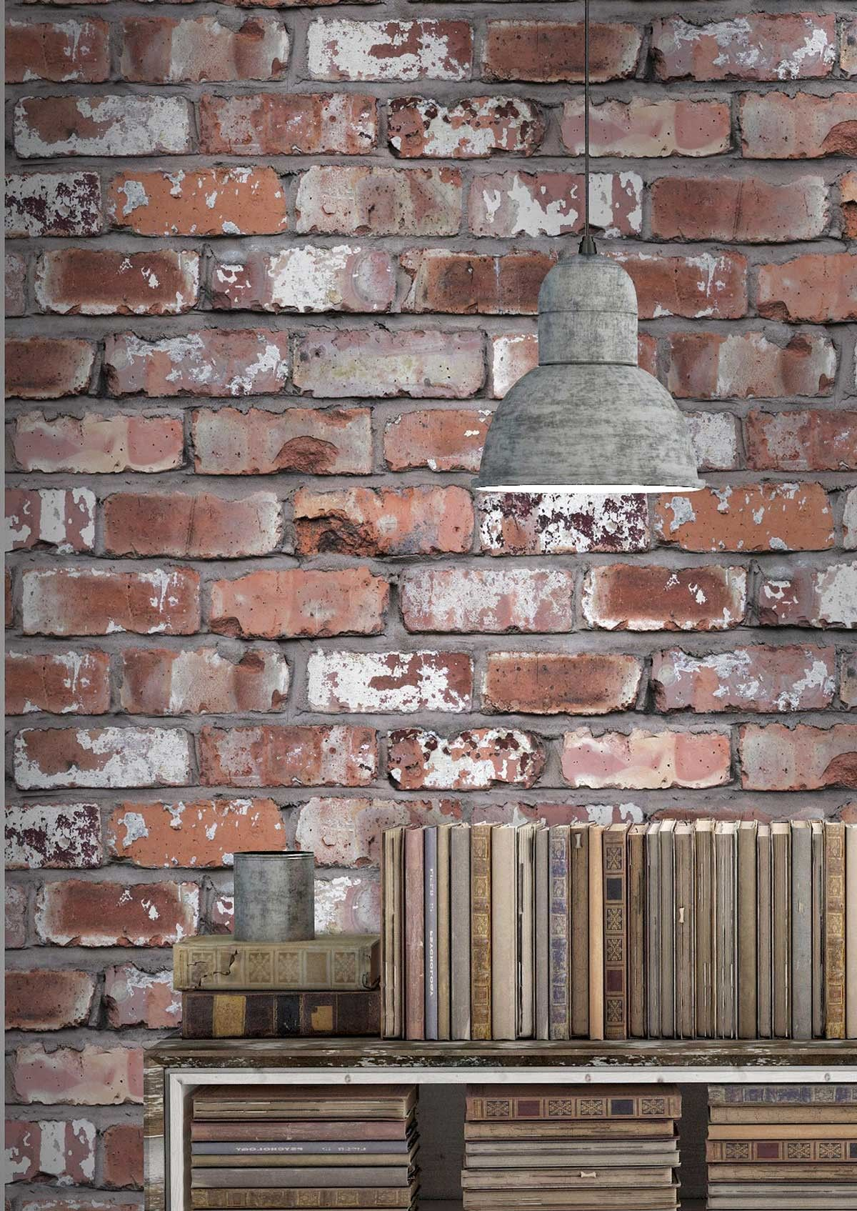 Get The Exposed Brick Look With Our Fantastic Real Effect Wallpaper Designed By Woodchip Magnolia This Stylish Wallcovering Will Bring A Unique