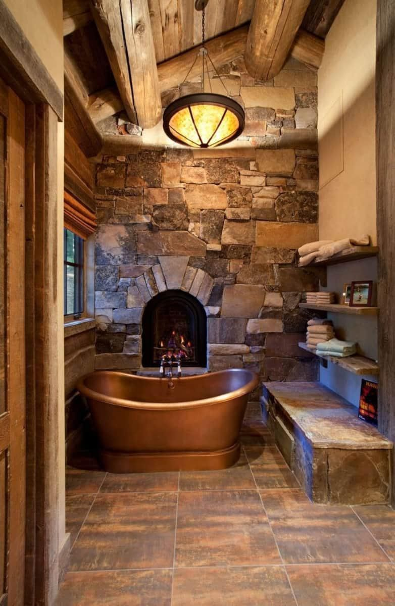 12 Rustic Tiny Cabin Cabin Bathrooms Rustic Bathroom Designs Timber House Cabin bathroom decorating ideas