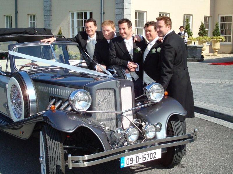 Wedding party car rental Wedding car, Luxury wedding