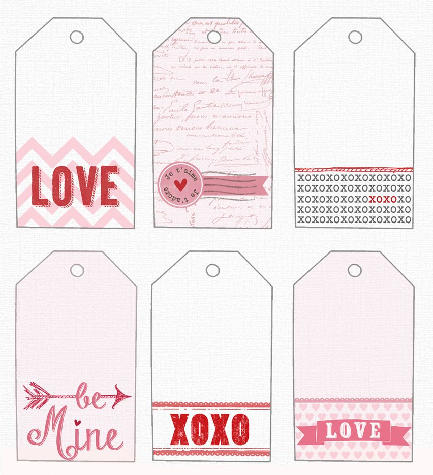 It is a graphic of Unusual Valentines Day Gift Tags