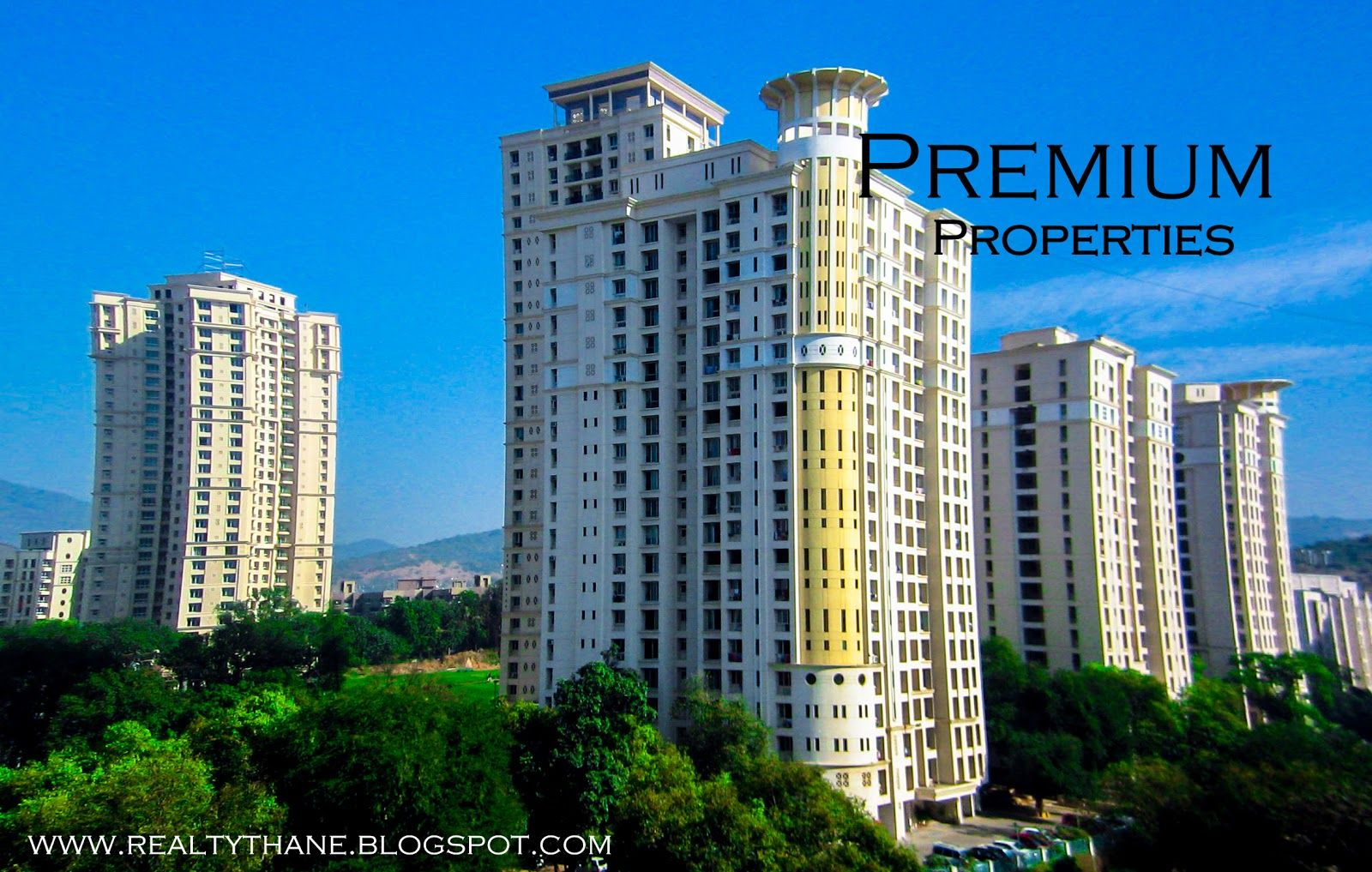Brookhill Hiranandani Estate 4bhk For Avon Wellington Tiara In Thane Mumbai Building Apartment Flats