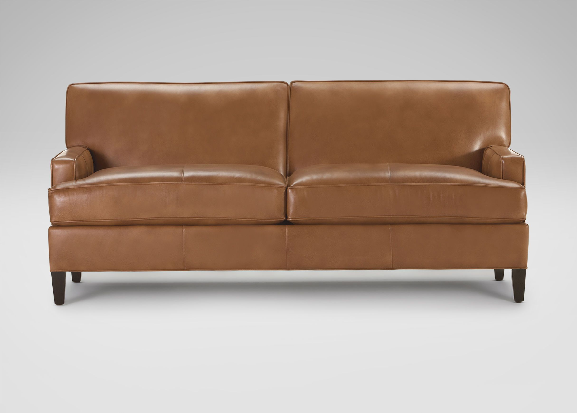 Bryant Leather Sofas Ethan Allen Starting At 2 319 20 Leather Sofa Leather Couch Red Accents Living Room