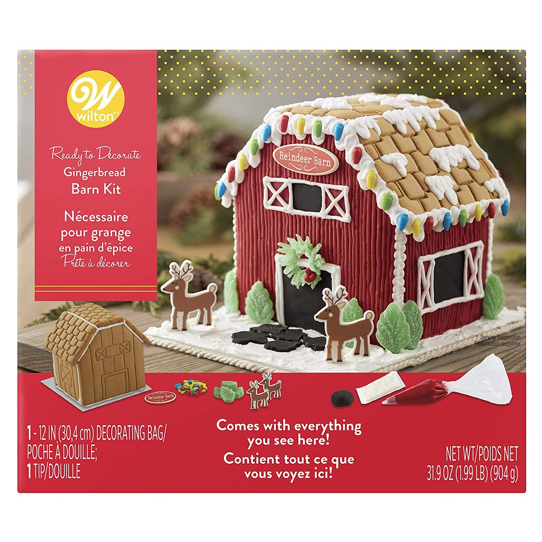 Wilton ReadytoDecorate Gingerbread Barn