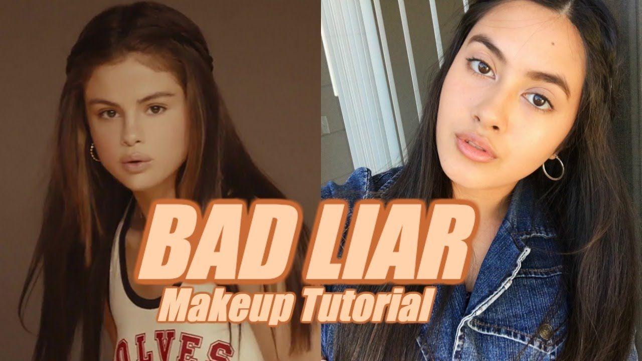 Selena Gomez Bad Liar Natural Makeup