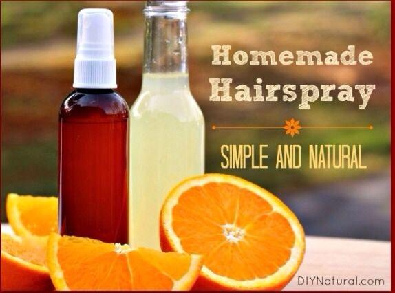 Homemade Natural Hairspray!!!