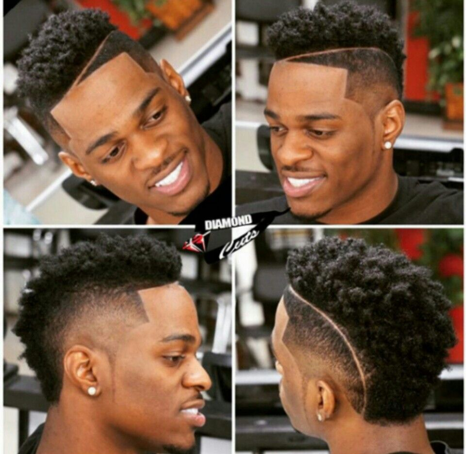 Different Barber Cuts Pinterest Haircuts Hair Cuts And Black Man